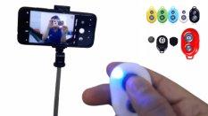Remote chụp ảnh từ xa, remote kết nối Bluetooth chụp ảnh từ xa tương thích hầu hết các dòng smartphone