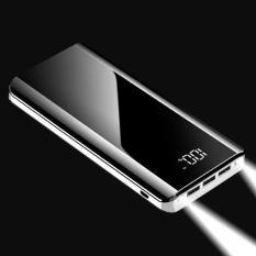 Pin Sạc Dự Phòng K29 20000mah Sạc nhanh 2A 3 cổng USB 2 đèn LED thích hợp dùng cho Apple, SamSung, Vivo, Xiaomi