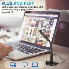 Micro USB Để Bàn Giọng Nói Baoblaze, Mic Chơi Game Cho Máy Tính Máy Tính Xách Tay