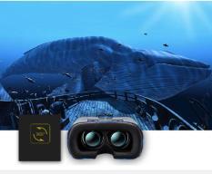 Kính thực tế ảo vr box, kính 3d cho điện thoại – Kính thực tế ảo thế hệ 2 VR KODENG cao cấp, chất lượng hình ảnh chân thực, Giá Khuyến Mại Hấp Dẫn