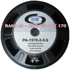 Một củ loa bass 40 từ 170mm coil 75 SOWAY hàng NK