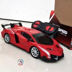 Đồ chơi ô tô điều khiển từ xa Top Speed dùng pin, có đèn sáng, điều khiển 4 chiều