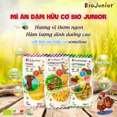 Mì nui ăn dặm hữu cơ cho bé Bio Junior 200g (Từ 8 tháng tuổi)