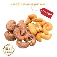 Hạt điều rang muối Hạt điều vỏ lụa rang muối Hạt điều tươi rang muối – Cashew nut roasted salted