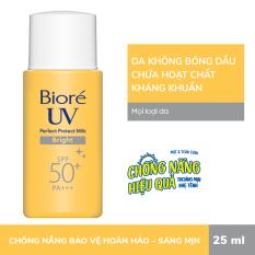 Bioré Sữa Chống Nắng Bảo Vệ Hoàn Hảo Sáng Mịn UV SPF50+/PA+++ 25ML