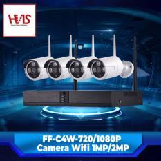 Camera Bộ WiFi Kit 5G + 4 Camera Sử Dụng Trong Nhà Và Ngoài Trời 720P – Không bao gồm ổ cứng
