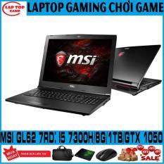 LAPTOP GAMING MSI GL62M 7RDX Core i5-7300HQ/ 8G/ HDD 1TB / VGA GTX 1050/ 15.6 inch FHD 1920*1080/ dòng máy chuyên game