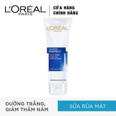 Sữa rửa mặt trắng da L'Oreal Paris White Perfect milk foam purifying & brightening 50ml