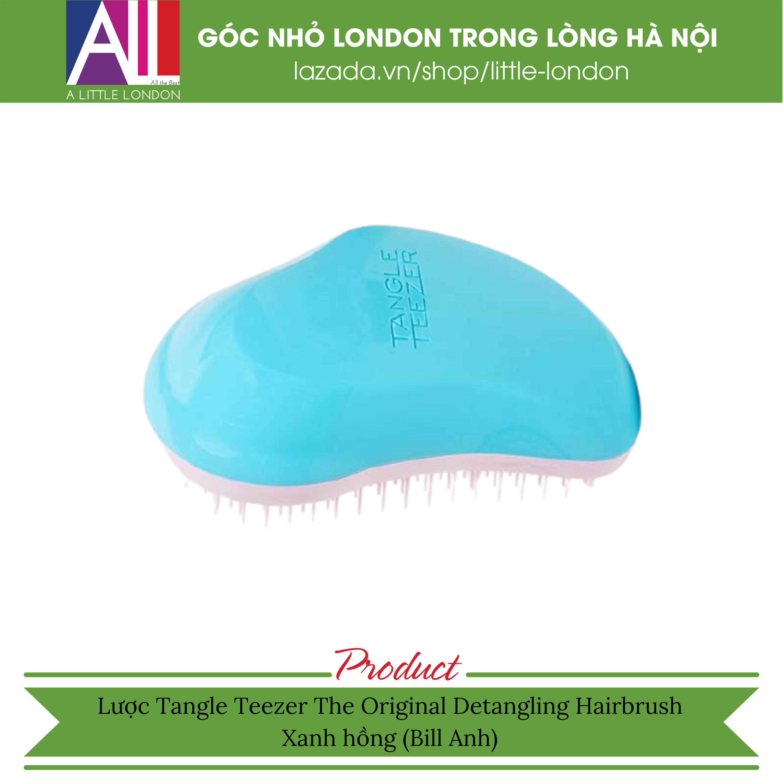 Lược Tangle Lược Tangle Teezer The Original Detangling Hairbrush – Xanh hồng (Bill Anh)