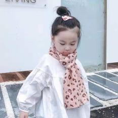Khăn choàng cổ thời trang giữ ấm cho bé gái