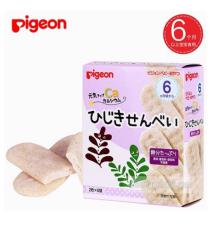 [RẺ VÔ ĐỐI] Bánh ăn dặm Pigeon Vị rong biển 25g cho bé từ 6 tháng tuổi trở lên bổ dung dinh dưỡng cho bé