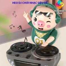 Heo Phát Nhạc – Chú Heo Chơi DJ Năng Động Siêu Dễ Thương Nhảy Theo Nhạc Và Đèn Cho Bé – LANA QUEEN