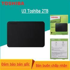 Ổ cứng ngoài Toshiba Canvio Ready – 2TB – Đen