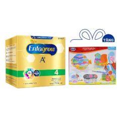 [Tặng Bộ đồ chơi tô màu con vật bằng sứ] Sữa Bột Enfagrow BIB A+ 4 2.2kg
