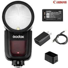 Đèn Flash Godox V1 cho Canon ( Kèm Pin và Sạc)