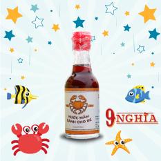 [HCM]Nước mắm dành cho em bé ăn dặm 60ml (Loại đặc biệt nhạt muối) 9-Nghĩa Phú Quốc – Nước mắm truyền thống 100% từ cá cơm sạch và nhạt muối giúp bé ăn ngon miệng