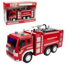 Xe ô tô cứu hỏa đồ chơi phun được nước có âm thanh và đèn đồ chơi trẻ em