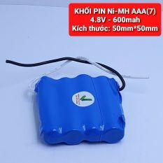 Achun.vn – KHỐI PIN SẠC Ni-MH AAA-4.8V – 600mah
