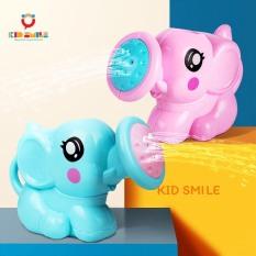 Đồ chơi mùa hè, đồ chơi bồn tắm cho trẻ em từ 1 tuổi trở lên, đồ chơi nhà tắm rót nước hình con voi ngộ nghĩnh nhựa ABS cao cấp