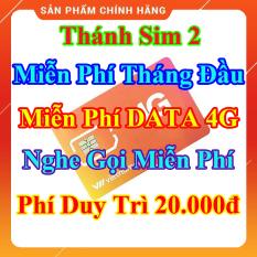 [HCM]Thánh Sim 2 – Miễn Phí DATA 4G – Miễn Phí Tháng Đầu – Nghe Gọi Miễn Phí Nội Mạng – Phí Duy Trì 20.000đ – Shop Lotus Sim Giá Rẻ