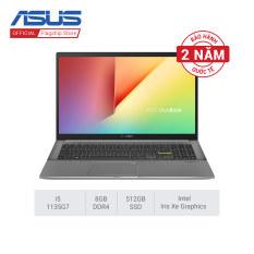 [Trả góp 0%]Laptop ASUS VivoBook S533EA-BQ018T i5-1135G7 8GB 512GB Intel Iris Xe Graphics 15.6 FHD Win 10 +(12/5 – 30/6 Cơ hội mua Combo deal shock Màn hình Pro Art PA248QV