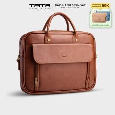 [TẶNG MÓC KHÓA YMK10] Cặp công sở thời trang đa năng TRITA TCA6
