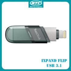 [HCM]USB 3.1 OTG SanDisk iXpand Flash Drive Flip 32GB / 64GB / 128GB / 256GB (Bạc) – Nhất Tín Computer