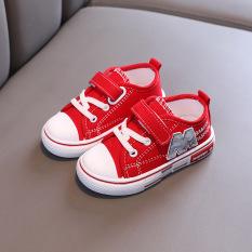 Giày lười thể thao cho bé FUHA, giày chống trượt in chữ M cá tính