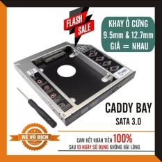 Khay Ổ Cứng Caddy Bay HDD SSD SATA 3 9.5mm 12.7mm – Giải Pháp Lắp Ổ Cứng Thứ 2 cho Laptop