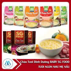 Cháo tươi dinh dưỡng BABY Sài Gòn FOOD – Tươi ngon như mẹ nấu nguyên liệu tươi tự nhiên, không chất bảo quản