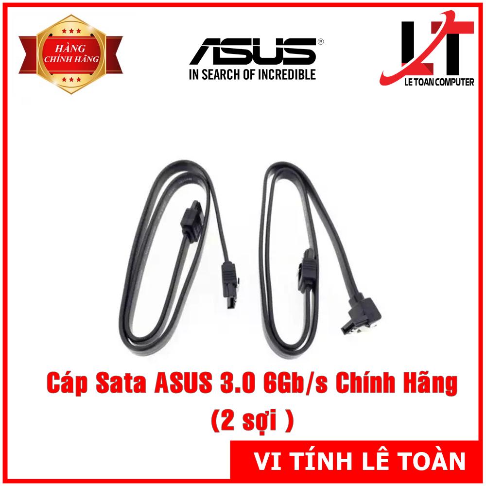 Cáp Sata Asus 3.0 Chuẩn 6.0 Gb/s Chính Hãng (2 sợi)