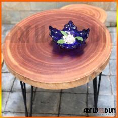 Bàn gỗ xà cừ tự nhiên 55-59