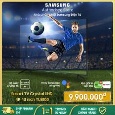 [Trả góp 0%]UA43TU8100 – Smart Tivi Samsung 4K 43 inch TU8100 2020