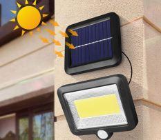ĐÈN NĂNG LƯỢNG MẶT TRỜI 100 LED PIN TACHS RỜI TRỜI TỐI TỰ SÁNG- CẢM BIẾN CHUYỂN ĐỘNG- 3 CHẾ ĐỘ SÁNG-HÀNG CHẤT LƯỢNG] Đèn năng lượng mặt trời 100LED COB LOẠI MỚI có 3 chế độ sáng mạnh nhẹ, Chống Nước cực tốt