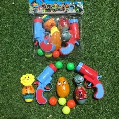 [HCM giao 1-2 ngày]Đồ chơi bắn bóng zombie & plants lực bắn không gây đau cho trẻ – Smart Baby