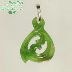 Mặt đeo đá ngọc bích NBM1- Diệp Linh.
