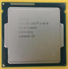 CPU Core i5 4570 3.2ghz socket 1150 kèm Fan chơi tốt các game nặng như pubg fifa4 sử dụng cho các main H81 hoặc B85