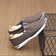 Giày lười mọi khâu sườn cá tính có 2 màu – BHNT Shop