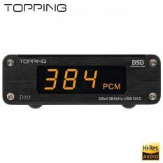 Dac giải mã Topping D10 usb 32Bit/384 DSD256