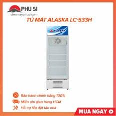 TRẢ GÓP 0% – Tủ Mát Alaska LC-533H