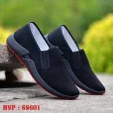 Giày lười nam giày lười phong cách thể thao đẹp SS6001 Chất vải thô thoáng mát Lên chân nhẹ nhàng, năng động
