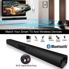 Loa Soundbar Tsujiu Store, Loa Bluetooth Kèn Đôi HIFI 5W * 2 AUX FM Rạp Hát Tại Nhà Âm Thanh Không Dây Di Động Phổ Thông