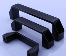 Combo 2 tay nắm nhựa đen LS522 PL006 120mm