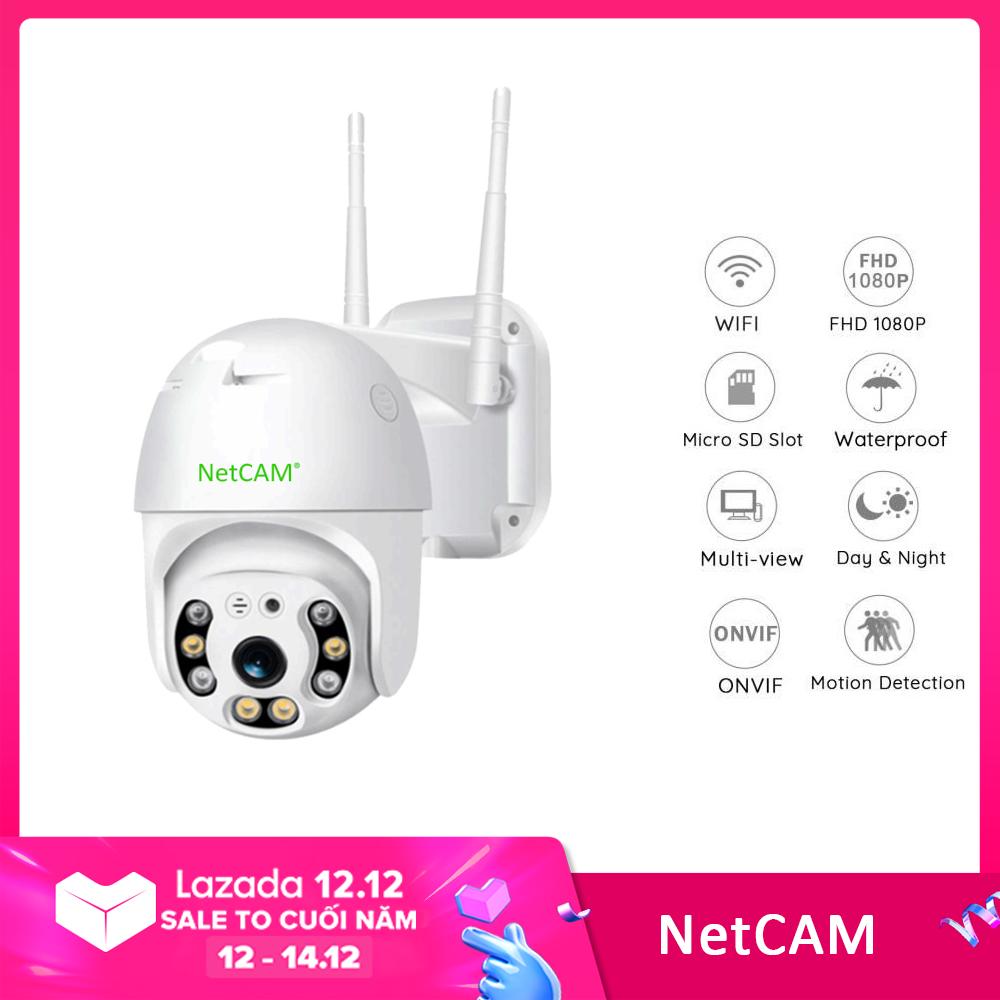 Camera IP wifi ngoài trời Speed Dome NetCAM STA2.0 Full HD 1080P – Hãng Phân Phối Chính Thức