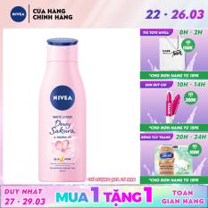 Sữa dưỡng thể dưỡng trắng da Nivea Dewy Sakura (200ml) – 85701