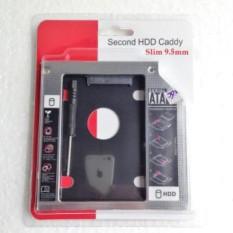 Caddy bay mỏng 9.5mm chuẩn SATA dùng để lắp thêm 1 ổ cứng / SSD thay vào vị trí của ổ DVD