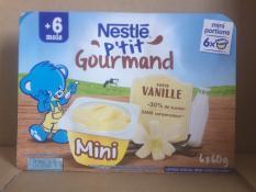 Váng sữa Nestle vị Vani 6x60g – Cho trẻ từ 6 tháng date T03.2021