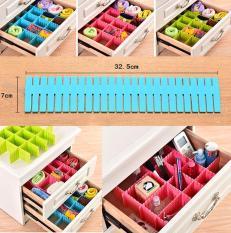 Combo 16 thanh chia ngăn tủ tự thiết kế giúp sắp xếp đồ dùng gọn gàng (cỡ lớn)