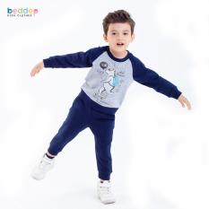 Bộ quần áo Beddepkids Clothes chất nỉ dày dặn cho bé trai B22