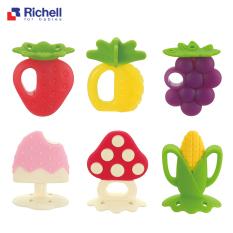 Gặm Nướu Richell Chất Liệu Silicon Mềm Cho Bé Siêu Cute- Nhiều Hình Đáng Yêu Giúp Bảo Vệ Nướu Cho Bé